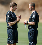 18.06.18  Steven Gerrard and Jordan Milsom