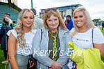 Marie Ann and Annette Nolan with Clodagh Culloty Kilmoyley supporters watching the Kerry Senior Hurling Championship Final in Austin Stack Park on Sunday.