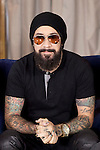 """AJ McLean of the Backstreet Boys attends their new music album """"In A World Like This"""" presentation at Palace Hotel on November 12, 2013 in Madrid, Spain. (ALTERPHOTOS/Victor Blanco)"""