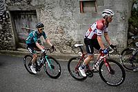Toms Skujiņš (LVA/Trek - Segafredo) up the Col de Portet-d'Aspet<br /> <br /> Stage 16 from El Pas de la Casa to Saint-Gaudens (169km)<br /> 108th Tour de France 2021 (2.UWT)<br /> <br /> ©kramon