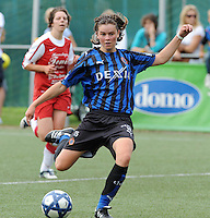 Dames Club Brugge : Charlotte Laridon.foto VDB / BART VANDENBROUCKE