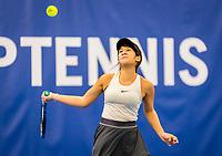 Amstelveen, Netherlands, 16  December, 2020, National Tennis Center, NTC, NK Indoor, National  Indoor Tennis Championships,  Lian Tran  (NED) <br /> Photo: Henk Koster/tennisimages.com