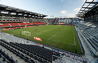 WASHINGTON, DC - SEPTEMBER 12: Audi Field during a game between New York Red Bulls and D.C. United at Audi Field on September 12, 2020 in Washington, DC.