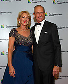 United States Secretary of Education Betsy DeVos and her husband, Richard, arrive for the formal Artist's Dinner honoring the recipients of the 41st Annual Kennedy Center Honors hosted by United States Deputy Secretary of State John J. Sullivan at the US Department of State in Washington, D.C. on Saturday, December 1, 2018. The 2018 honorees are: singer and actress Cher; composer and pianist Philip Glass; Country music entertainer Reba McEntire; and jazz saxophonist and composer Wayne Shorter. This year, the co-creators of Hamilton writer and actor Lin-Manuel Miranda, director Thomas Kail, choreographer Andy Blankenbuehler, and music director Alex Lacamoire will receive a unique Kennedy Center Honors as trailblazing creators of a transformative work that defies category.<br /> Credit: Ron Sachs / Pool via CNP
