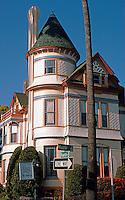 San Diego: Britt House, Restored, 1985. Queen Anne Victorian, 1889. Photo '85.