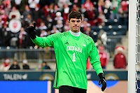 Chester, PA - Sunday December 10, 2017: Trey Muse. Stanford University defeated Indiana University 1-0 in double overtime during the NCAA 2017 Men's College Cup championship match at Talen Energy Stadium.