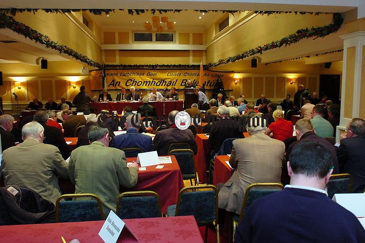 Clare County GAA convention Auburn Lodge Ennis.Pic Arthur Ellis.