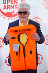 Pedro Almodovar attends to solidary encounter to raise funds for Open Arms Foundation in Madrid, Spain. May 31, 2018. (ALTERPHOTOS/Borja B.Hojas)