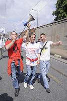 - Turin,  general strike of  FIAT workers....- Torino, sciopero generale dei lavoratori FIAT
