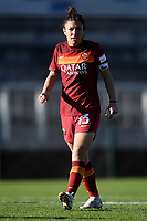 Elisa Bartoli of AS Roma during the Women Italy cup round of 8 second leg match between AS Roma and Florentia S.G. at stadio delle tre fontane, Roma, February 14, 2021. Photo Andrea Staccioli / Insidefoto