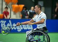 19-12-13,Netherlands, Rotterdam,  Topsportcentrum, Tennis Masters, Carlos Anker (NED)<br /> Photo: Henk Koster