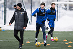 St Johnstone Training…<br />Charlie Gilmour pictured during training ahead of Sundays game against Celtic.<br />Picture by Graeme Hart.<br />Copyright Perthshire Picture Agency<br />Tel: 01738 623350  Mobile: 07990 594431
