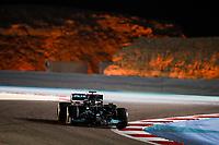 28th March 2021; Sakhir, Bahrain; F1 Grand Prix of Bahrain, Race Day;   HAMILTON Lewis gbr, Mercedes AMG F1 GP W12 E Performance holding onto his lead from Verstappen during Formula 1 Gulf Air Bahrain Grand Prix 2021