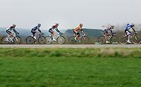 Liège-Bastogne-Liège 2013..Andy Schleck (LUX) in line.