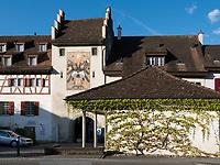 Obertor in Stein am Rhein, Kanton Schaffhausen, Schweiz<br /> Obertor in Stein am Rhein, Canton Schaffhausen, Switzerland