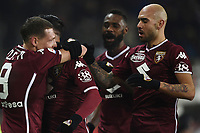 Armando Izzo of Torino celebrates with team mates after scoring a goal <br /> Torino 27-01-2019 Stadio Olimpico, Football Serie A 2018/2019 Torino - Internazionale  <br /> Foto Image Sport / Insidefoto