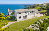 Home with breathtaking sea views and private steps to its own cove on the market for £2.5 million