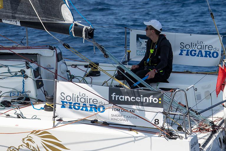 Ireland's Tom Dolan lies 17th in the 34 boat fleet of La Solitaire du Figaro