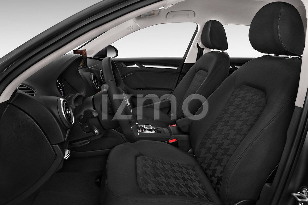 Front seat view of a 2015 Audi A3 Ambiente 5 Door Hatchback 2WD Front Seat car photos
