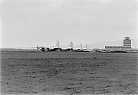 """Sujet : Opération """"Cross - Laporte"""". Avions militaire a l'aeroport de Québec<br /> Date :15 octobre 1970<br /> Photographe : Photo Moderne- Agence Quebec Presse"""