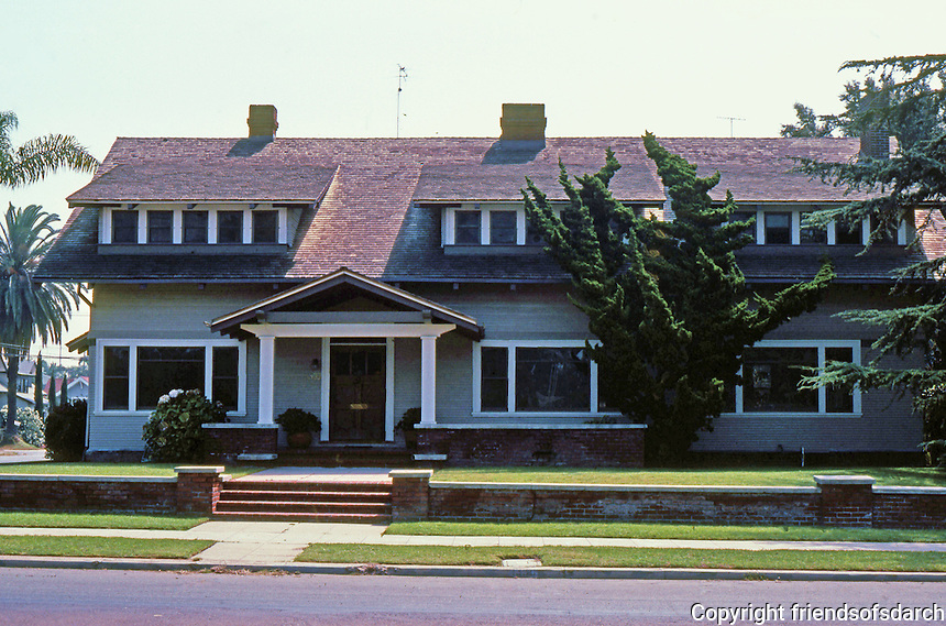 San Diego: Extended bungalow with 3 wide dormers. 1355 28th St. at Ash. (Photo '82)