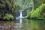 USA, OR, Columbia River Gorge, Lower Punchbowl Falls