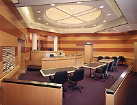 Courtroom at Reman Hall