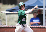 Palo Verde's Nathan Bartlett hits against Basic in the NIAA 4A baseball championship game in Reno, Nev., on Saturday, May 19, 2018. Palo Verde won 4-2. Cathleen Allison/Las Vegas Review-Journal