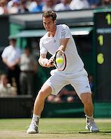 England, London, 28.06.2014. Tennis, Wimbledon, AELTC, Andy Murray (GBR)<br /> Photo: Tennisimages/Henk Koster