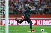 8th September 2021; PGE National Stadium, Warsaw, Poland: FIFA World Cup 2022 Football qualification, Poland versus England;  WOJCIECH SZCZESNY clears the ball long upfield