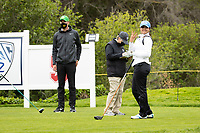 STANFORD, CA - APRIL 25: Simar Singh at Stanford Golf Course on April 25, 2021 in Stanford, California.