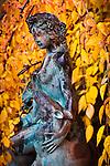 10.27.09 - Statue in the garden