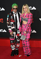 NEW YORK, NY- SEPTEMBER 12: Avril Lavigne at the 2021 MTV Video Music Awards at Barclays Center on September 12, 2021 in Brooklyn,  New York City. <br /> CAP/MPI/JP<br /> ©JP/MPI/Capital Pictures