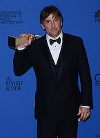 RICHARD LINKLATER @ the 72nd annual Golden Gobe awards held @ the Beverly Hilton hotel.<br /> January 11, 2015
