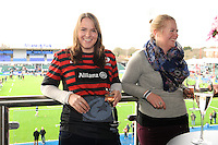 20130216 Copyright onEdition 2013©.Free for editorial use image, please credit: onEdition..Fans soaking the pre-match atmosphere in the Tulip Club before the Premiership Rugby match between Saracens and Exeter Chiefs at Allianz Park on Saturday 16th February 2013 (Photo by Rob Munro)..For press contacts contact: Sam Feasey at brandRapport on M: +44 (0)7717 757114 E: SFeasey@brand-rapport.com..If you require a higher resolution image or you have any other onEdition photographic enquiries, please contact onEdition on 0845 900 2 900 or email info@onEdition.com.This image is copyright onEdition 2013©..This image has been supplied by onEdition and must be credited onEdition. The author is asserting his full Moral rights in relation to the publication of this image. Rights for onward transmission of any image or file is not granted or implied. Changing or deleting Copyright information is illegal as specified in the Copyright, Design and Patents Act 1988. If you are in any way unsure of your right to publish this image please contact onEdition on 0845 900 2 900 or email info@onEdition.com