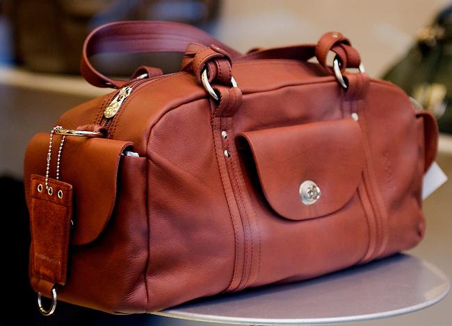 Leather Luggage, Mandarin Duck, Rome, Italy