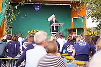 Gut besuchter Kerwegottesdienst mit Heidemarie Ludolf - Büttelborn 19.09.2021: Biddelberner Kerb an der Tornhall