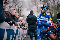 Philippe GILBERT (BEL/Deceuninck-Quick Step) at the start<br /> <br /> 74th Omloop Het Nieuwsblad 2019 <br /> Gent to Ninove (BEL): 200km<br /> <br /> ©kramon