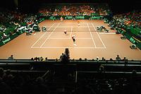 22-9-07, Netherlands, Rotterdam, Daviscup NL-Portugal, Dubbels,Overzicht