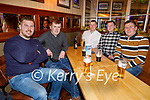 Danny Casey, Padraig Kearney, Shane Casey, Eoin Fitzgerald and Podge Casey enjoying the evening in the Mall Tavern on Saturday.