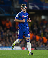 Chelsea Captain Gary Cahill during the UEFA Champions League match between Chelsea and Maccabi Tel Aviv at Stamford Bridge, London, England on 16 September 2015. Photo by Andy Rowland.