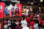 Liverpool Former Players Ian Rush (L) and Robbie Fowler (R) during the Liverpool FC Supporters Club Legends Appearance at Grappa's Cellar-Jardine House on July 17, 2017 in Hong Kong, China. Photo by Marcio Rodrigo Machado / Power Sport Images