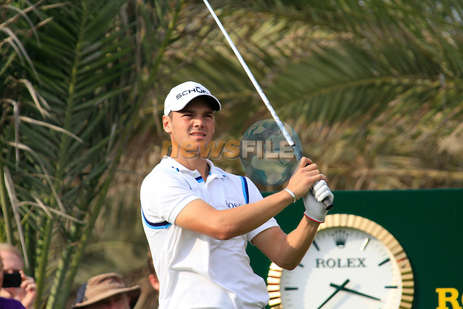 Martin Kaymer tees off on the 14th tee during the Final Day Sunday of the Abu Dhabi HSBC Golf Championship, 23rd January 2011..(Picture Eoin Clarke/www.golffile.ie)
