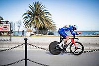 Tobias Ludvigsson (SWE/Groupama - FDJ)<br /> <br /> Final stage 7 (ITT) from San Benedetto del Tronto to San Benedetto del Tronto (10.1km)<br /> <br /> 56th Tirreno-Adriatico 2021 (2.UWT) <br /> <br /> ©kramon