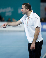 Australia's coach Taip Ramadani during 23rd Men's Handball World Championship preliminary round match.January 15,2013. (ALTERPHOTOS/Acero) /NortePhoto