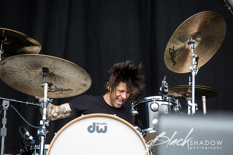 Against Me! performing at The Big Day Out, Melbourne, Flemington Racecourse, 26 January 2013