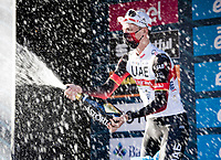 Tadej Pogačar (SVN/UAE-Emirates) wins stage 4 from Terni to Prati di Tivo (148km) and becomes the new GC leader.<br /> <br /> 56th Tirreno-Adriatico 2021 (2.UWT) <br /> <br /> ©kramon