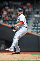 St. Louis Cardinals pitcher Mitchell Boggs #41 during a game against the New York Mets at Citi Field on July 21, 2011 in Queens, NY.  Cardinals defeated Mets 6-2.  Tomasso DeRosa/Four Seam Images