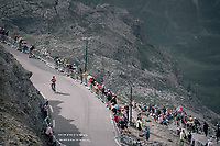 Thomas de Gendt (BEL/Lotto-Soudal) up the highest point in the 2017 TdF: The Galibier (HC/2642m/17.7km/6.9%)<br /> <br /> 104th Tour de France 2017<br /> Stage 17 - La Mure › Serre-Chevalier (183km)