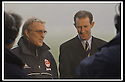 05/01/2002                 Copyright Pic : James Stewart .Ref :     .File Name : stewart-st johnstone v adeen 08.ABDERDEEN MANAGER EBBE SKOVDHALL AND ST JOHNSTNE MANAGER BILLY STARK TALK TO THE PRESS AT A FOUND BOUND MCDIARMID PARK AFTER REFEREE KENNY CLARK CALLED THE GAME OFF........James Stewart Photo Agency, Stewart House, Stewart Road, Falkirk. FK2 7AS      Vat Reg No. 607 6932 25.Office     : +44 (0)1324 630007     .Mobile  : + 44 (0)7721 416997.Fax         :  +44 (0)1324 630007.E-mail  :  jim@jspa.co.uk.If you require further information then contact Jim Stewart on any of the numbers above.........